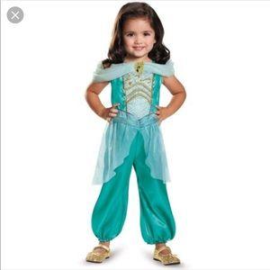 Disney Princess Jasmine Playtime Costume EUC 4-6x